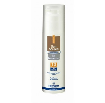 FREZYDERM SUNSCREEN TAN ACCELERATOR CREAM spf10 150ml