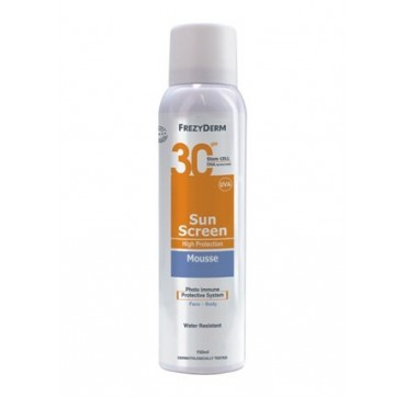 FREZYDERM SUNSCREEN MOUSSE spf30 150ml