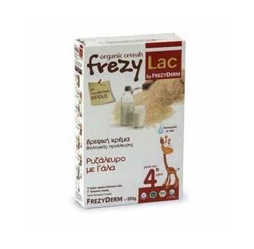 Frezyderm Frezylac Cereal Βρεφική Βιολογική Κρέμα Ρυζάλευρο Με Γάλα 200g