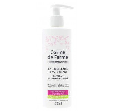 Corine De Farme - Micellar Cleansing Lotion Προσώπου 200 Ml