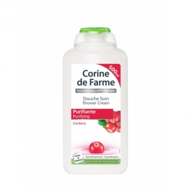 CORINE DE FARME - CRANBERRY PURIFYING SHOWER CREAM 500 ml