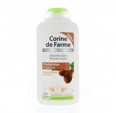 CORINE DE FARME - SHEA BUTTER PROTECTIVE SHOWER CREAM 500 ml
