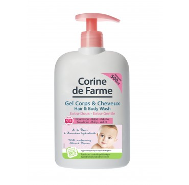 CORINE DE FARME - EXTRA GENTLE HAIR & BODY WASH 500 ml