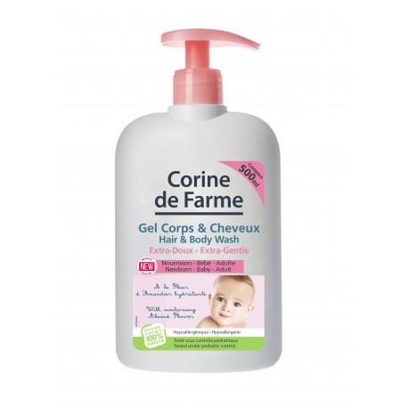 CORINE DE FARME - EXTRA GENTLE HAIR & BODY WASH 500 ml