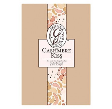GREENLEAF - SCENTED ENVELOPE SACHET (CASHMERE KISS) 115ml