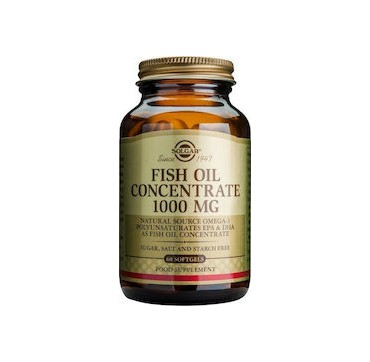 SOLGAR FISH OIL CONCENTRATE 1000mg x60 softgels