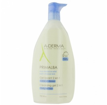 A-DERMA PRIMALBA CLEANSING GEL 2 IN 1 500ml