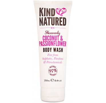 KIND NATURED with HEAVENLY COCONUT & PASSIONFLOWER BODY WASH 250ml