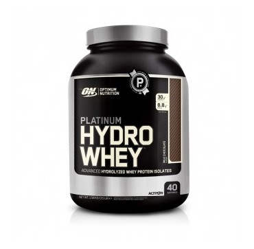 OPTIMUM NUTRITION PLATINUM HYDROWHEY (ΓΕΥΣΗ: MILK CHOCOLATE)1600g