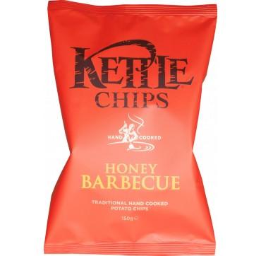 Kettle Chips Ηονευ Bbq & Sea Salt Πατατάκια Τηγανισμένα Στο Χέρι Με Γεύση Μπάρμπεκιου & Μέλι 150g