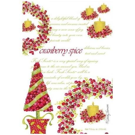 FRESH SCENTS Sachet Αρωματικό Φακελάκι Cranberry Spice 115 ml