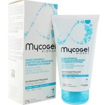 Biorga Mycogel Gel Nettoyant Moussant 150ml