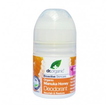 DR ORGANIC MANUKA HONEY ROLL-ON DEODORANT 50ml