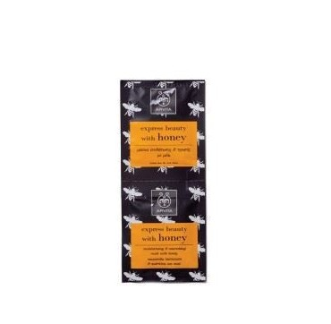 Apivita Express Beauty Μάσκα Ενυδατικής Τροφής Με Μέλι 2χ8ml