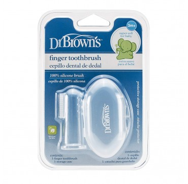 DrBROWN'S FINGER TOOTHBRUSH 1τμχ