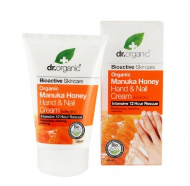 DR ORGANIC MANUKA HAND AND NAIL CREAM 125ml