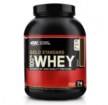 OPTIMUM NUTRITION 100% WHEY GOLD STANDARD (ΓΕΥΣΗ: DOUBLE RICH CHOCOLATE) 2,270g