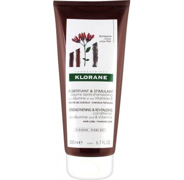 KLORANE CONDITIONER WITH QUININE & B VITAMINS FOR HAIR LOSS AND THINNING HAIR ΜΑΛΑΚΤΙΚΗ ΚΡΕΜΑ ΓΙΑ ΕΝΔΥΝΑΜΩΣΗ ΚΑΙ ΤΟΝΩΣΗ 200ML