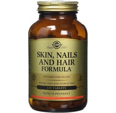 Solgar Skin, Nails And Hair 120tabs