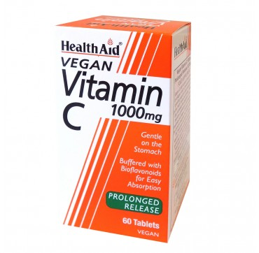 Health Aid Vitamin C 1000mg Prolonged Release 60 tabs