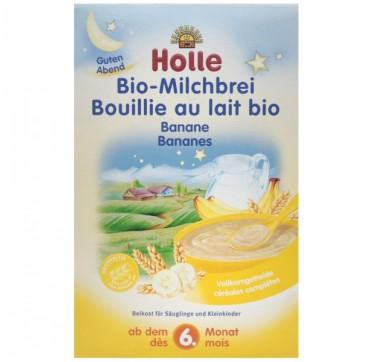Holle Παιδική κρέμα με Μπανάνα και γάλα 250gr