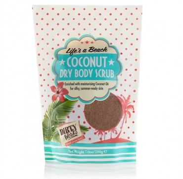 DIRTY WORKS COCONUT DRY BODY SCRUB 200gr