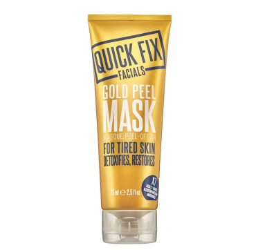 QUICK FIX FACIALS GOLD PEEL MASK 75ml