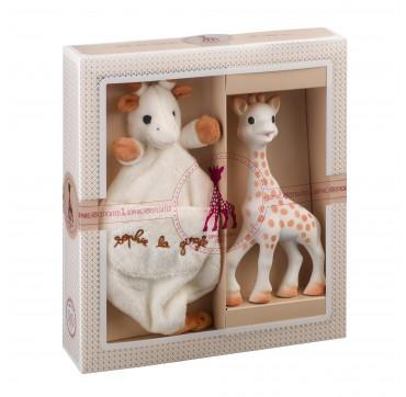 Sophie la Girafe Σετ Δώρου με Πανάκι Παρηγοριάς 2 τεμ.