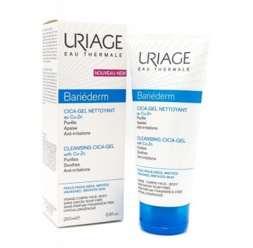 URIAGE Bariederm Cica-Gel with Cu-Zn 200ml