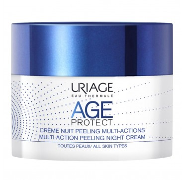 URIAGE AGE PROTECT Multi Action Peeling Night Cream 50ml
