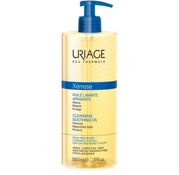 URIAGE Xemose Cleansing Soothing Oil 500ml