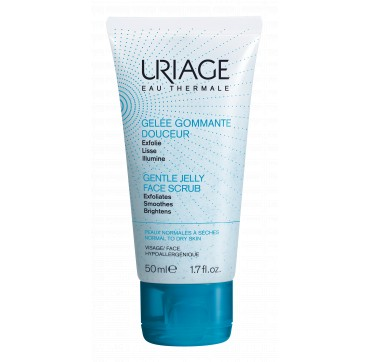 URIAGE Gentle Jelly Face Scrub 50ml