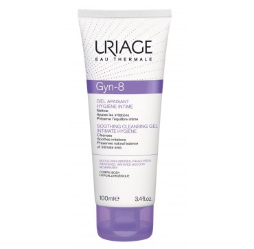 URIAGE Gyn-8 Soothing Cleansing Gel Intimate Hygiene 100ml