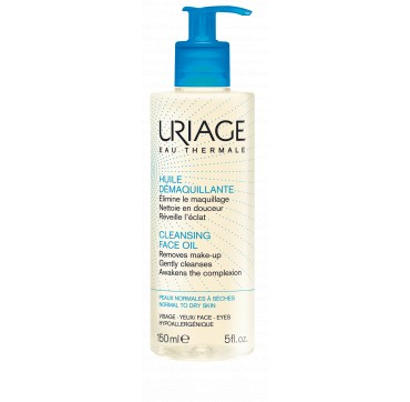 URIAGE Cleansing Face oil Για Κανονικές/Ξηρές Επιδερμίδες 150ml