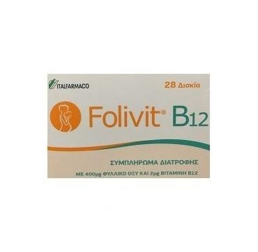 FOLIVIT B-12 28 tabs