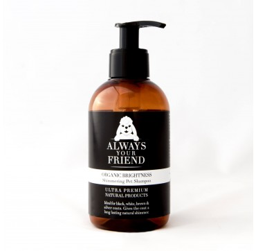 ALWAYS YOUR FRIEND Organic Brightness Shampoo Σαμπουάν (για σκύλους) 250ml