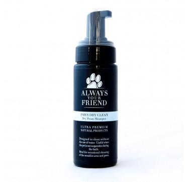 Always Your Friend Paws Dry Clean Shampoo Σαμπουάν Στεγνού Καθαρισμού 150ml