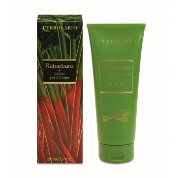 L'ERBOLARIO RABARBARO BODY CREAM 200ml