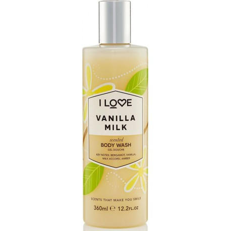 I LOVE COSMETICS SCENTED BODY WASH VANILLA MILK 360ml