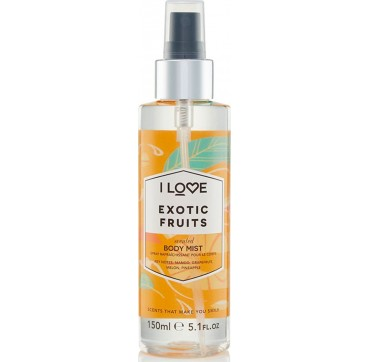 I LOVE COSMETICS SCENTED BODY MIST EXOTIC FRUITS 150ml