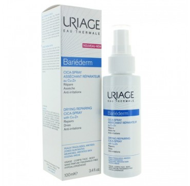 URIAGE Bariederm Drying Repair Cica-Spray With Cu-Zn 100ml