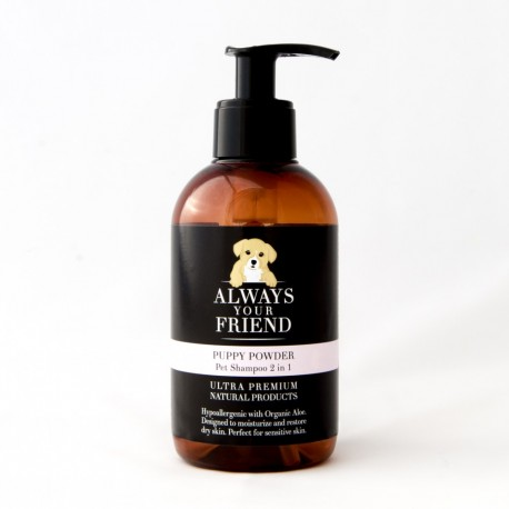 ALWAYS YOUR FRIEND Puppy Powder Pet SHampoo 2in1 250ml