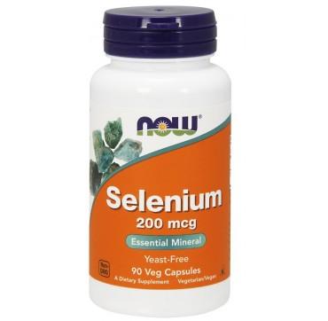 Now Selenium 200mcg 90vcaps