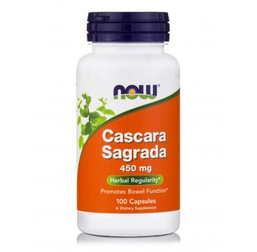 NOW CASCARA SAGRADA 450mg 100vcaps