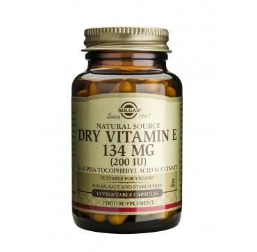 Solgar Vitamin E 200iu 50softgels