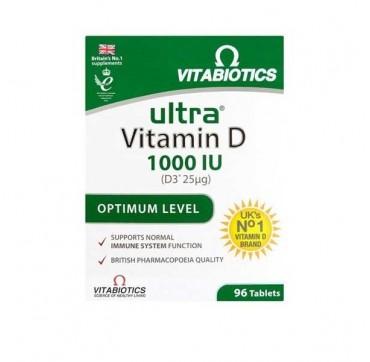 VITABIOTICS ULTRA-D3 1000 IU 96TABS