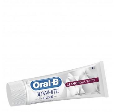 Oral-b 3d White Luxe Glamorous White Οδοντόκρεμα Απαλή Με Το Σμάλτο 75ml