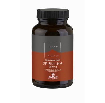 Terranova Spirulina 500mg 50vcaps