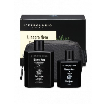 L' ERBOLARIO BLACK JUNIPER MAXI BEAUTY SET PERFUME 50ml & ENERGISING SHOWER SHAMPOO 250ml & ΔΩΡΟ ΝΕΣΕΣΕΡ