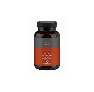 TERRANOVA LIVING MULTIVITAMIN MAN 50vcaps